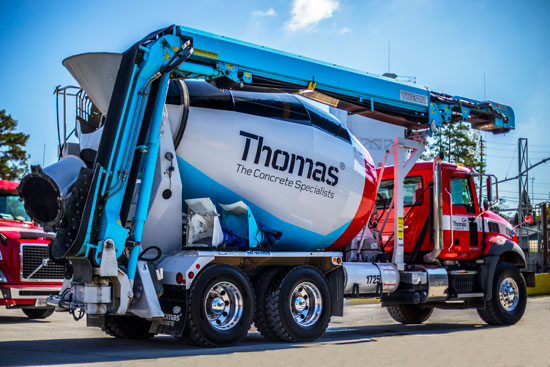 Thomas Concrete Conveyor trucks The Concrete Specialists