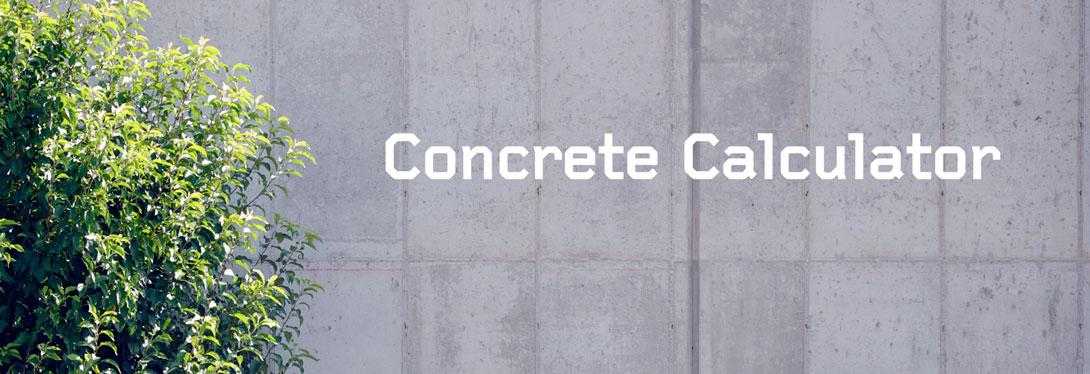 Volume Calculator | Concrete Supplier | The Concrete